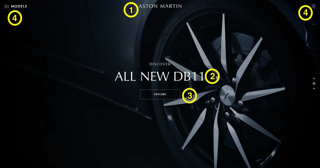 UX Design - Aston Martin